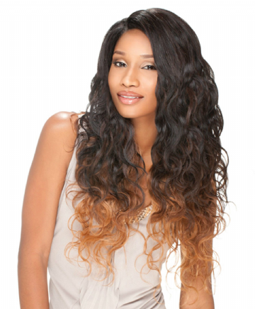 "PERUVIAN  WAVE PREMIUM TOO MIXX MULTI CURL WEAVE 16"" 18"" 20"" 22"" + PARTING"